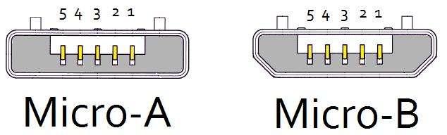 картинки с microUSB type B