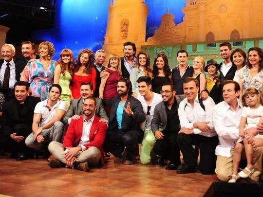 """de la producción de la telenovela de Televisa """" Mentir Para Vivir ..."""