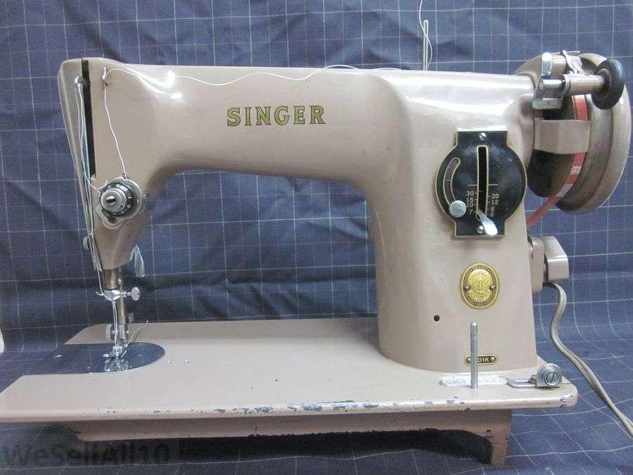 Singer 201k Heavy Duty Sewing Machine Denim Canvas Vinyl