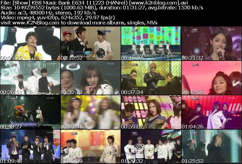 KBS Music Bank E634 111223