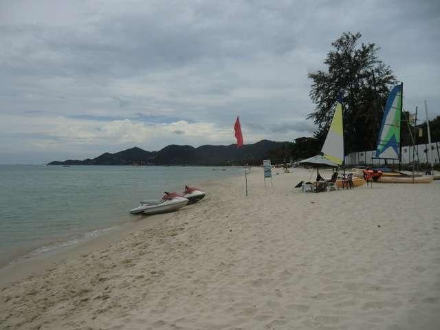 Chaweng Beach rechtsseitig
