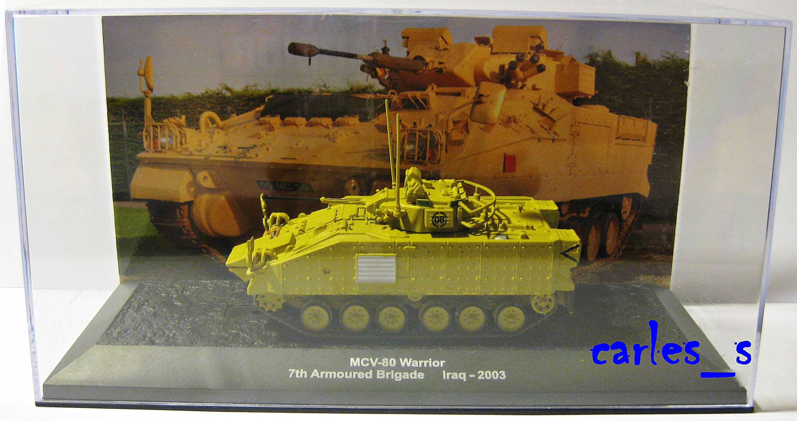 MCV-80 Warrior 7th Armoured Brigade - Iraq 2003 1/72 ALTAYA IXO tank