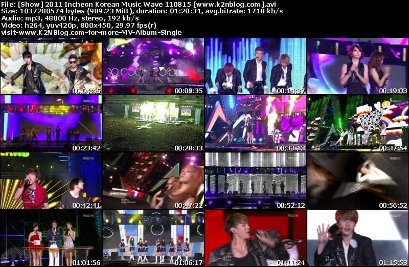 2011 Incheon Korean Music Wave 110815 Thumbnail