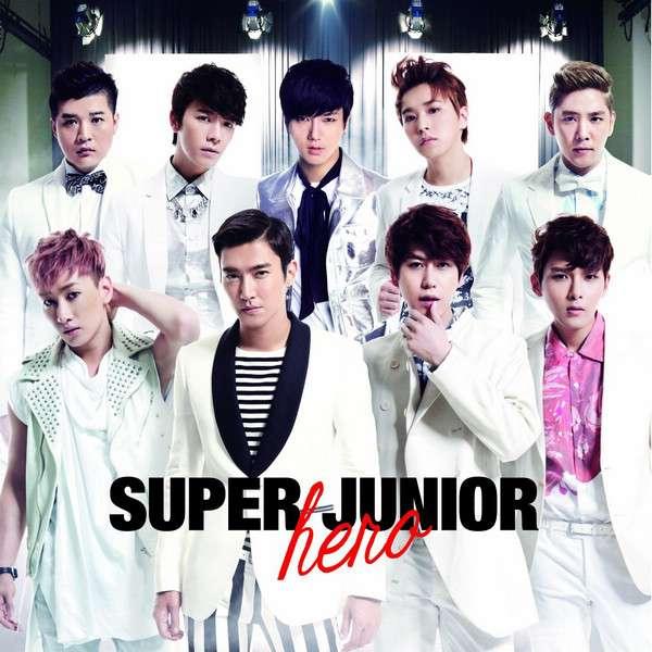 [Album] Super Junior - Hero [Japanese]