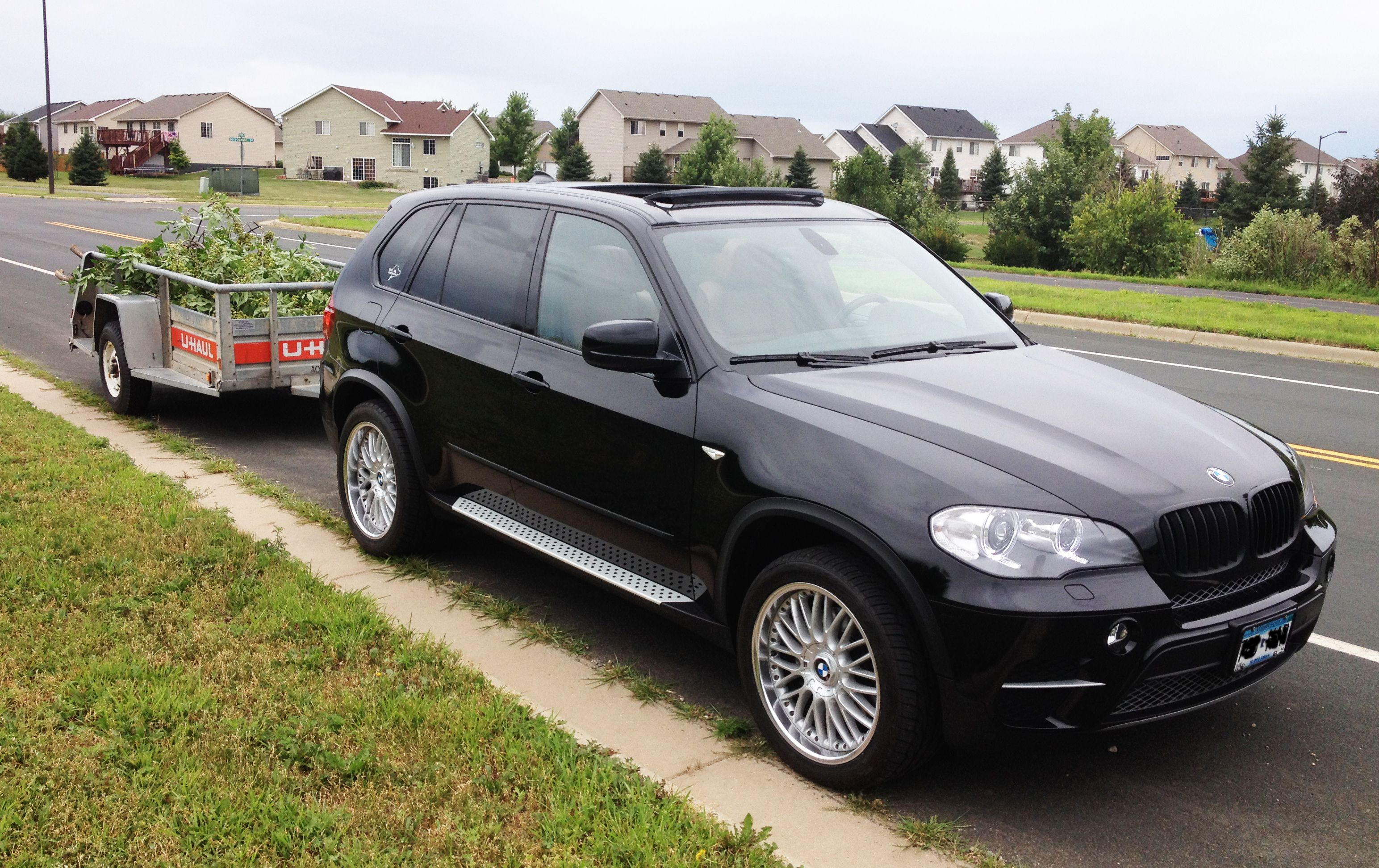 towing photos with x5 page 6 bimmerfest bmw forums. Black Bedroom Furniture Sets. Home Design Ideas